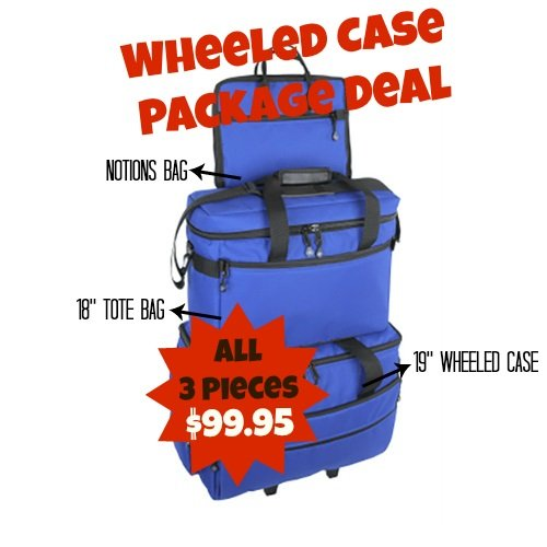 Wheeled Case Set