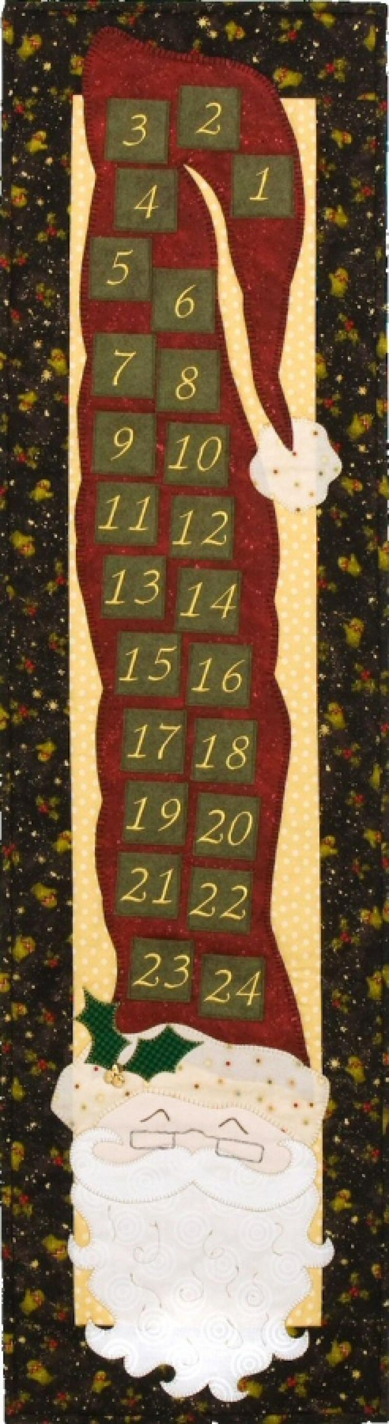 P105 Santa Advent Calendar