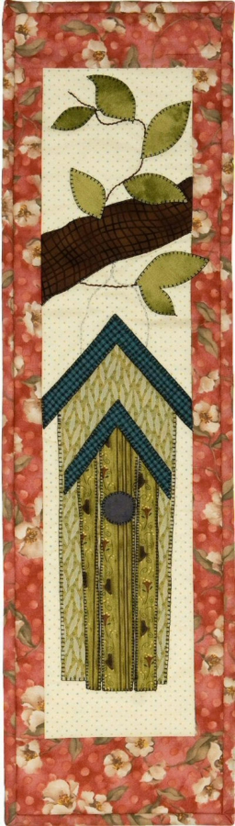 P109A Double Birdhouse Finished Model or pattern