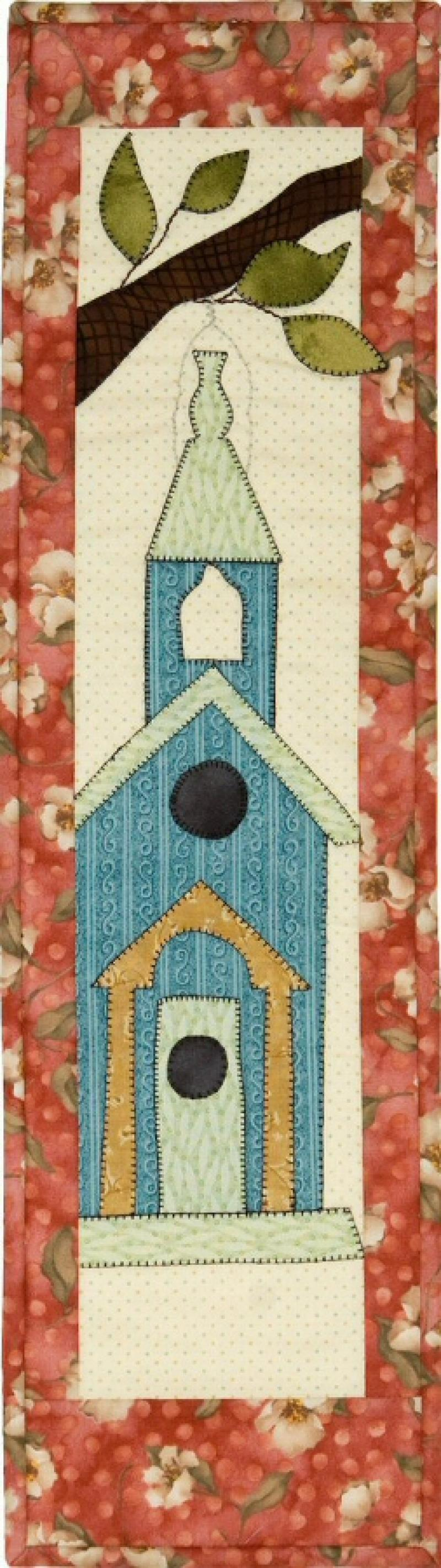 P109C Sunday Birdhouse Finished Model or pattern