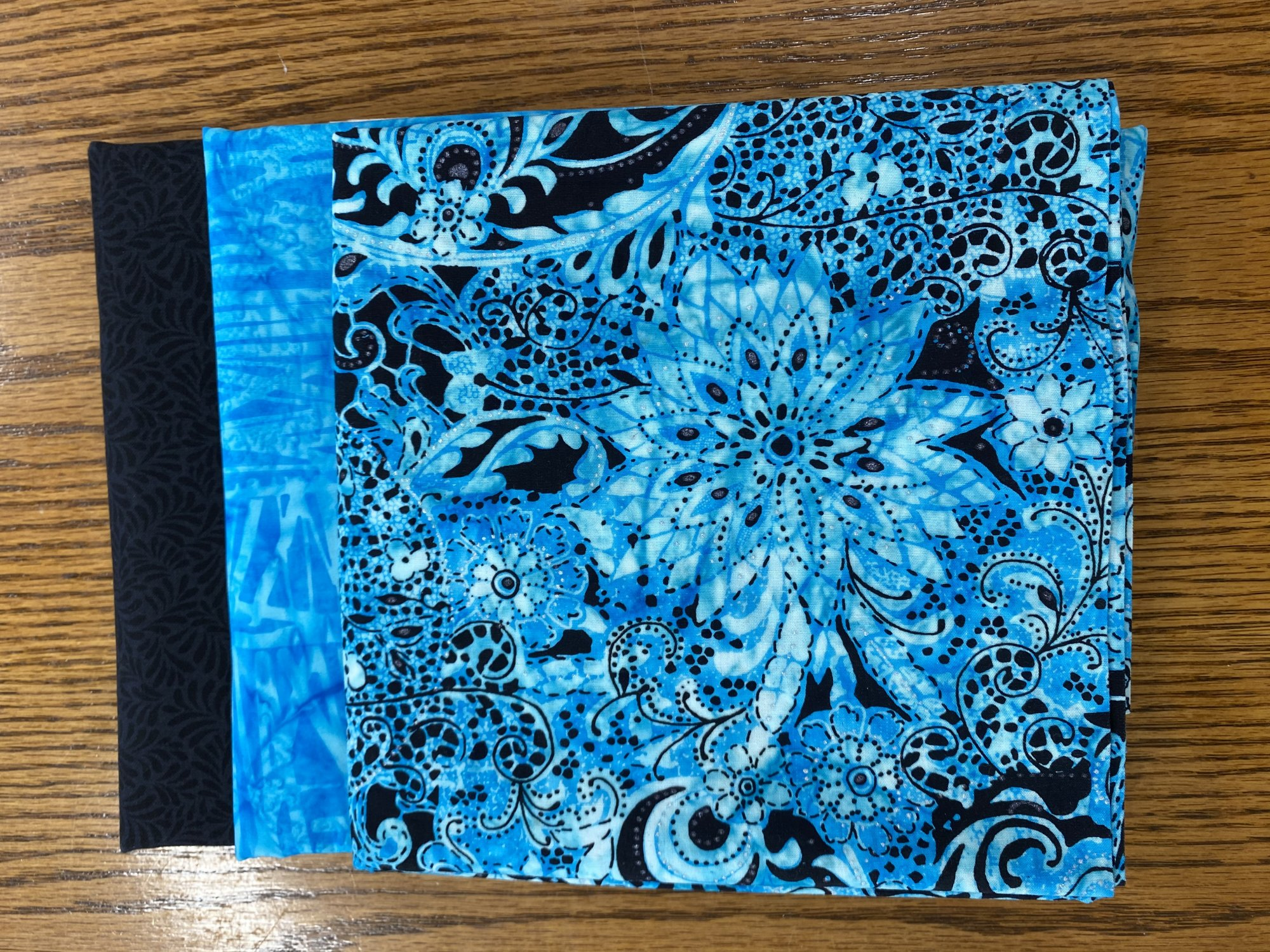 Kit 3 Yard Quilts Turquoise
