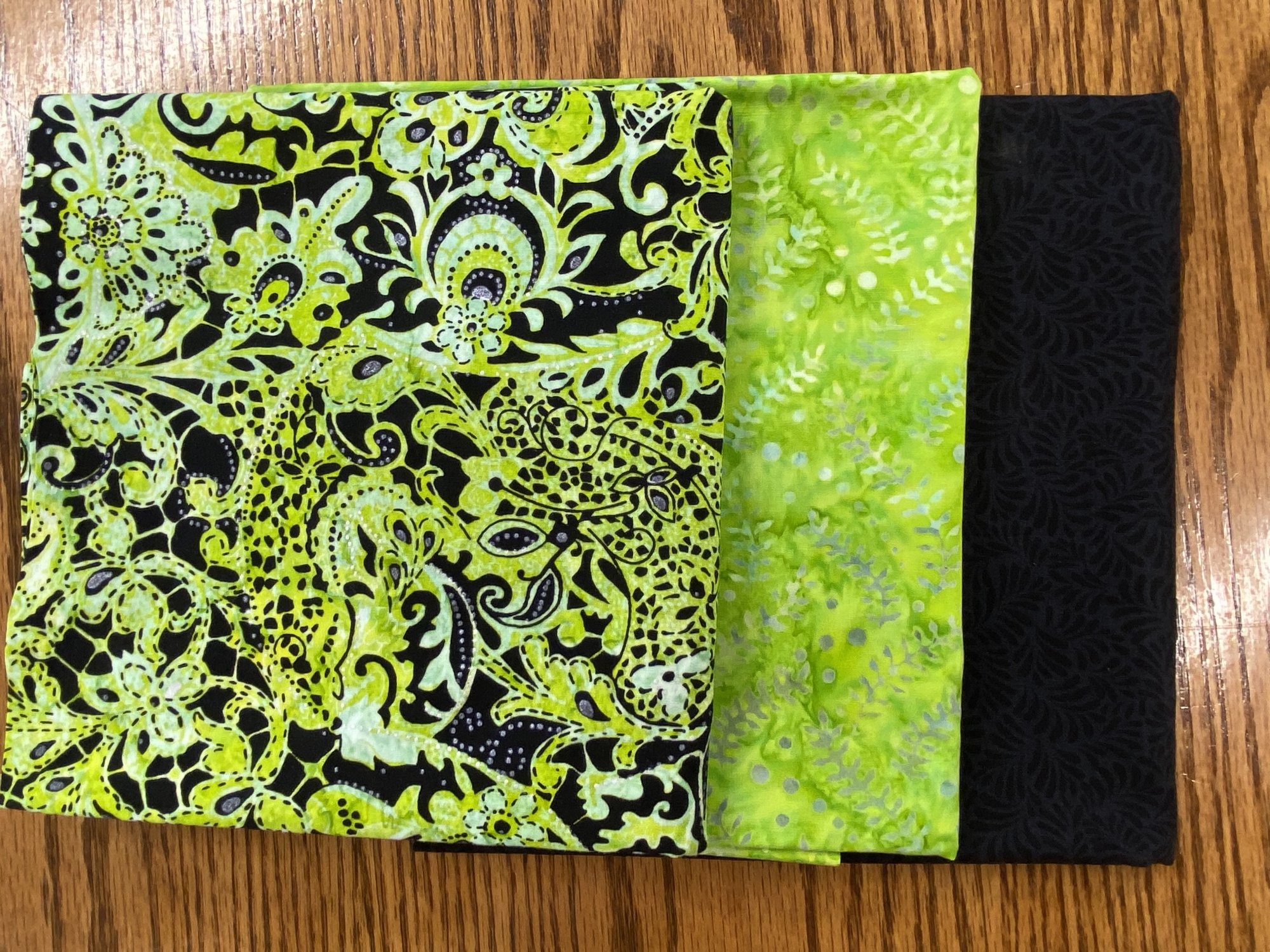 Kit 3 Yard Quilts Lime