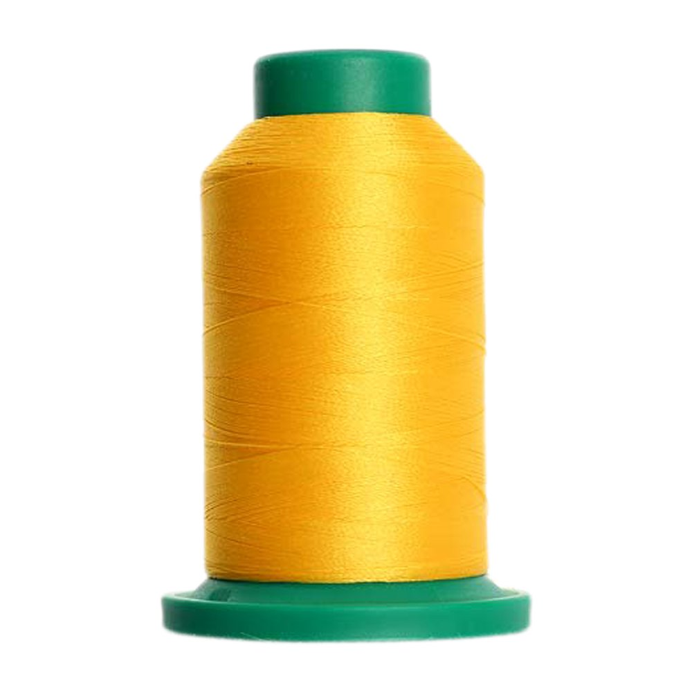 311 - Canary Isacord Embroidery Thread 1000M