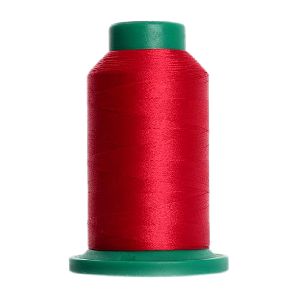 2101 - Country Red Isacord Embroidery Thread 1000M