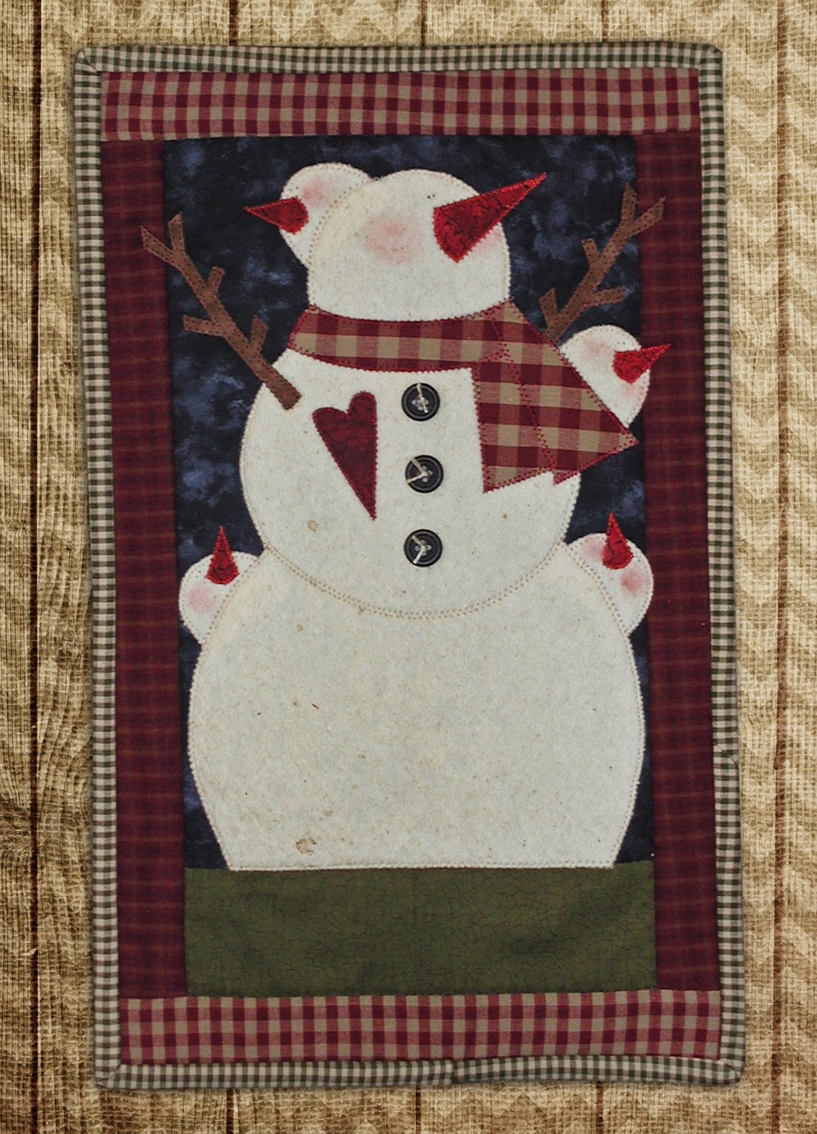 Snowman A Door A Doodle
