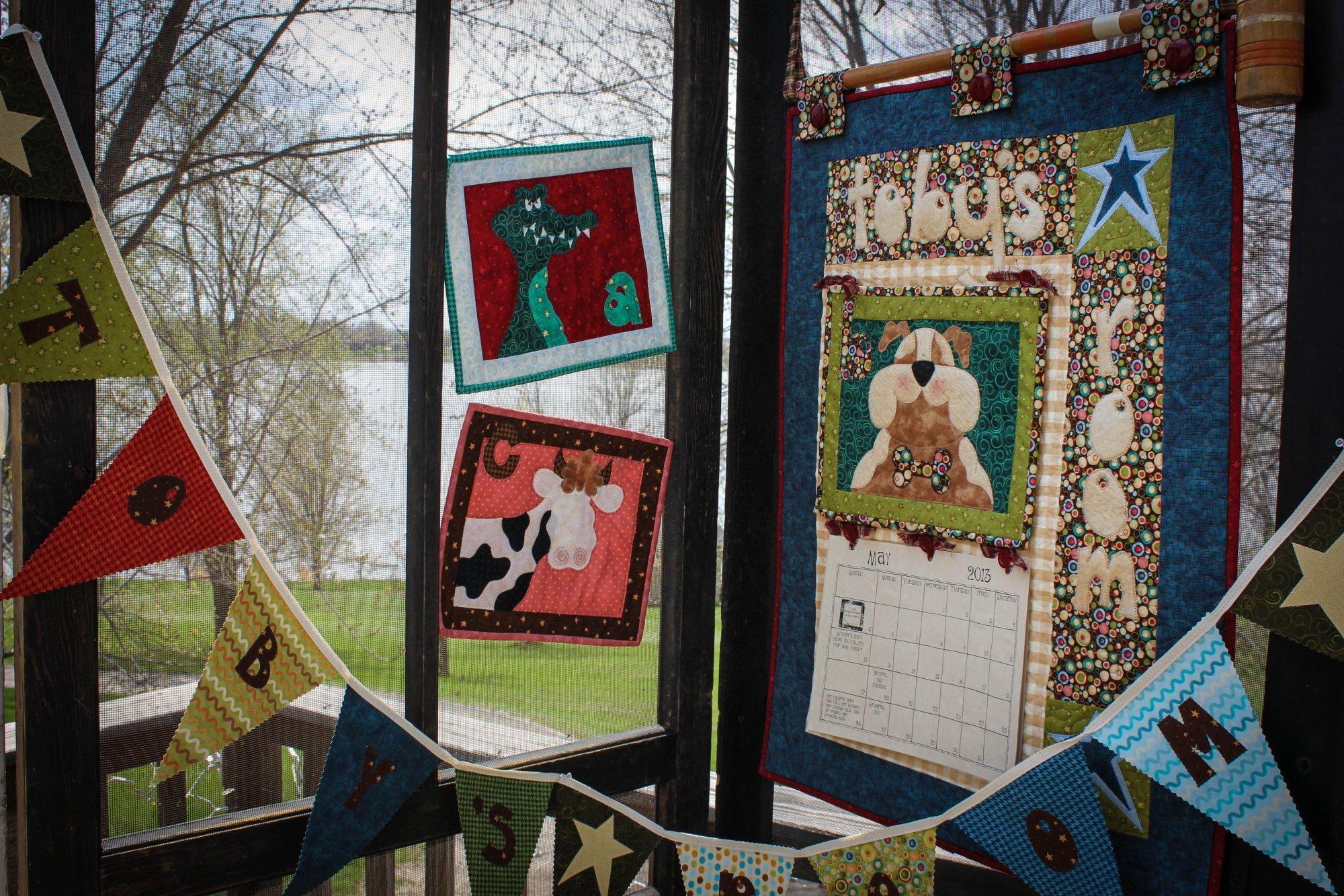 A-B-C...1-2-3 Buzy Dayz Calendar