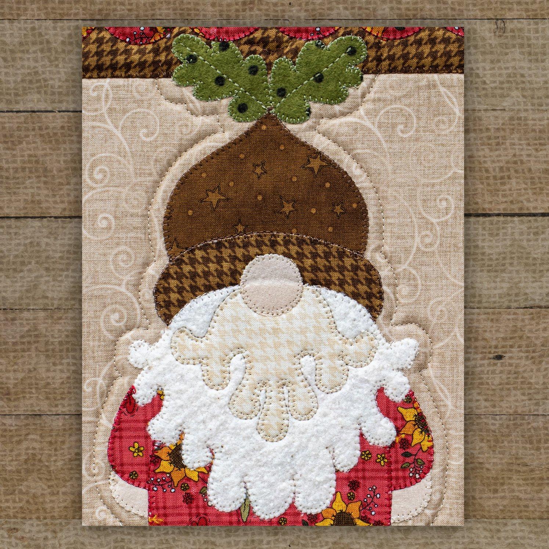 Acorn Gnome Precut Fused Applique Pack