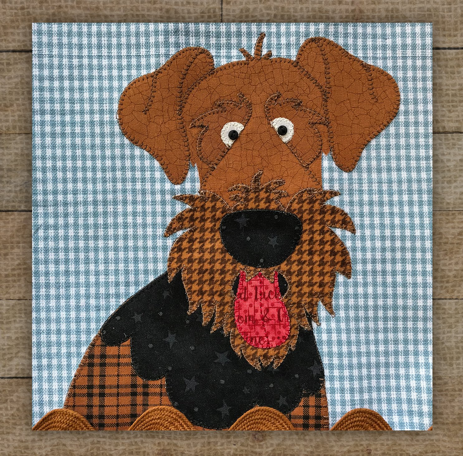 Airedale - Pattern