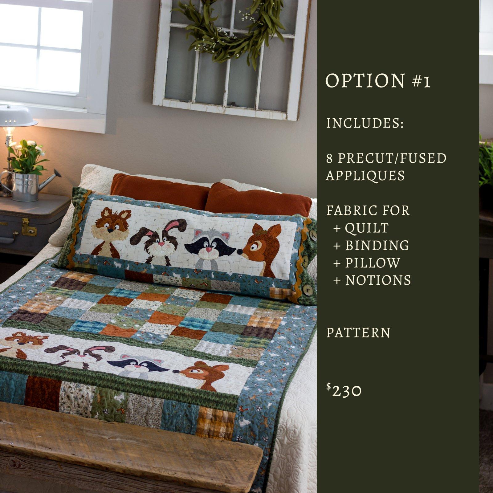 Woodland Flannel Friends Kit