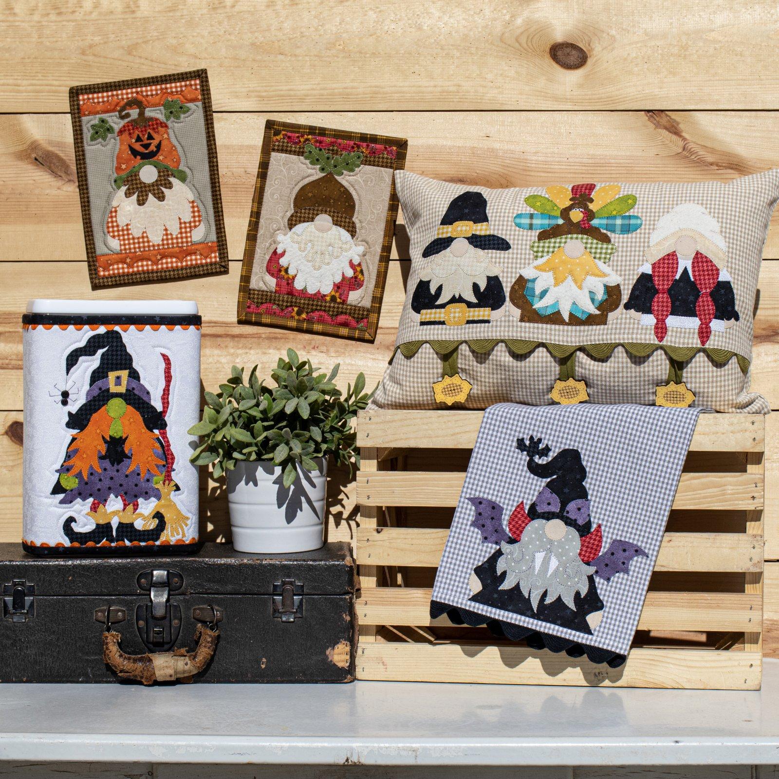 Autumn Gnomes Pattern
