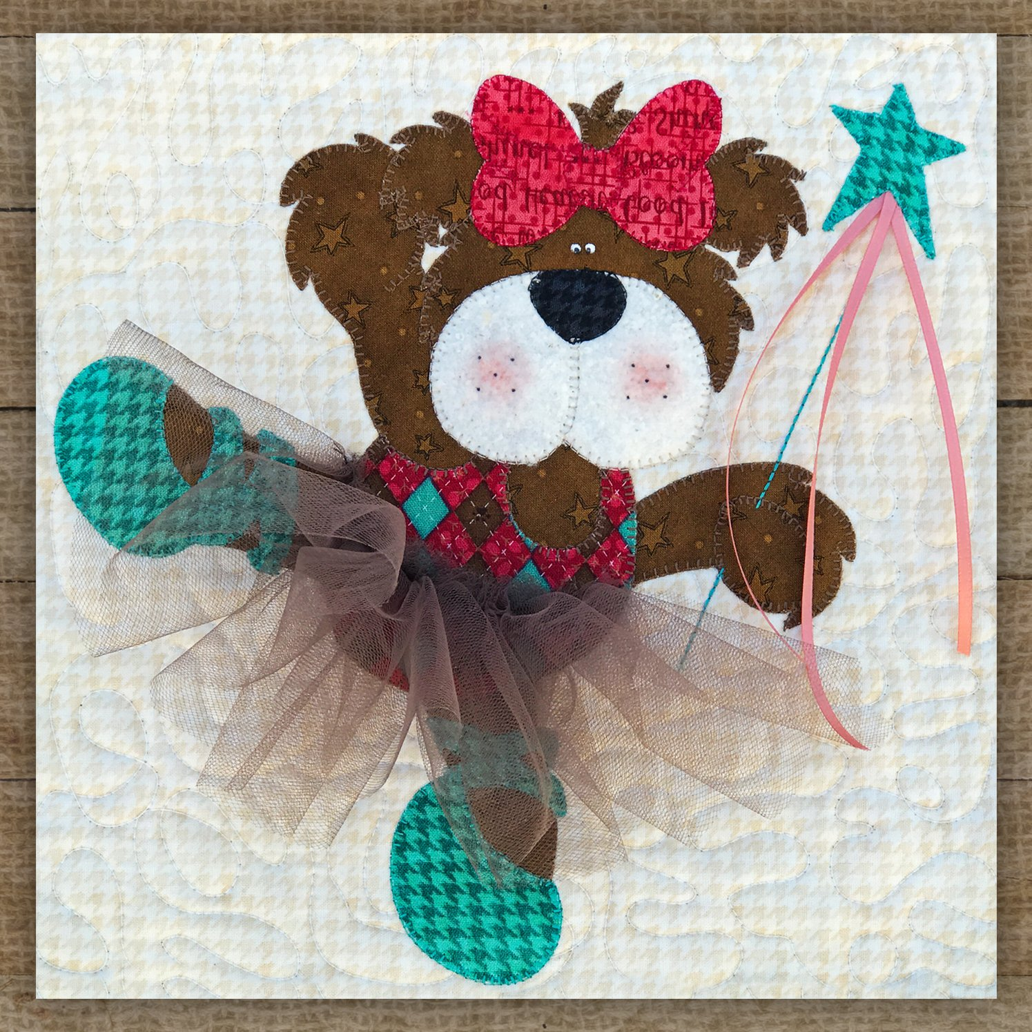 Ballerina Bear - Pattern
