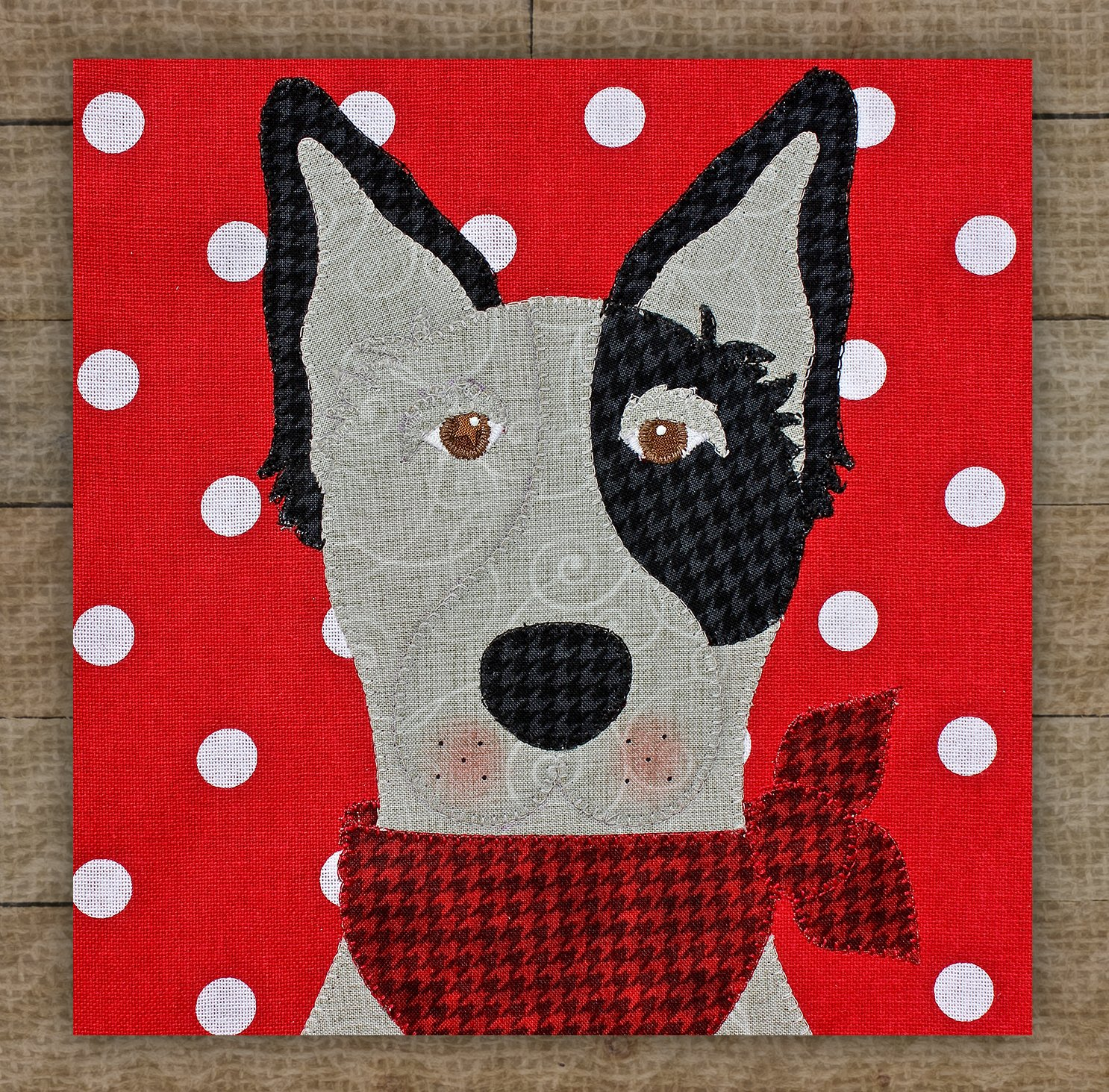 Blue Heeler Precut Fused Applique Kit