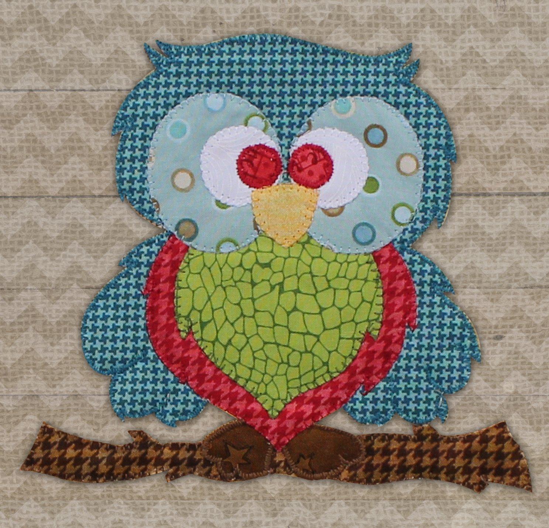 Blue Owl Precut Fused Applique Kit