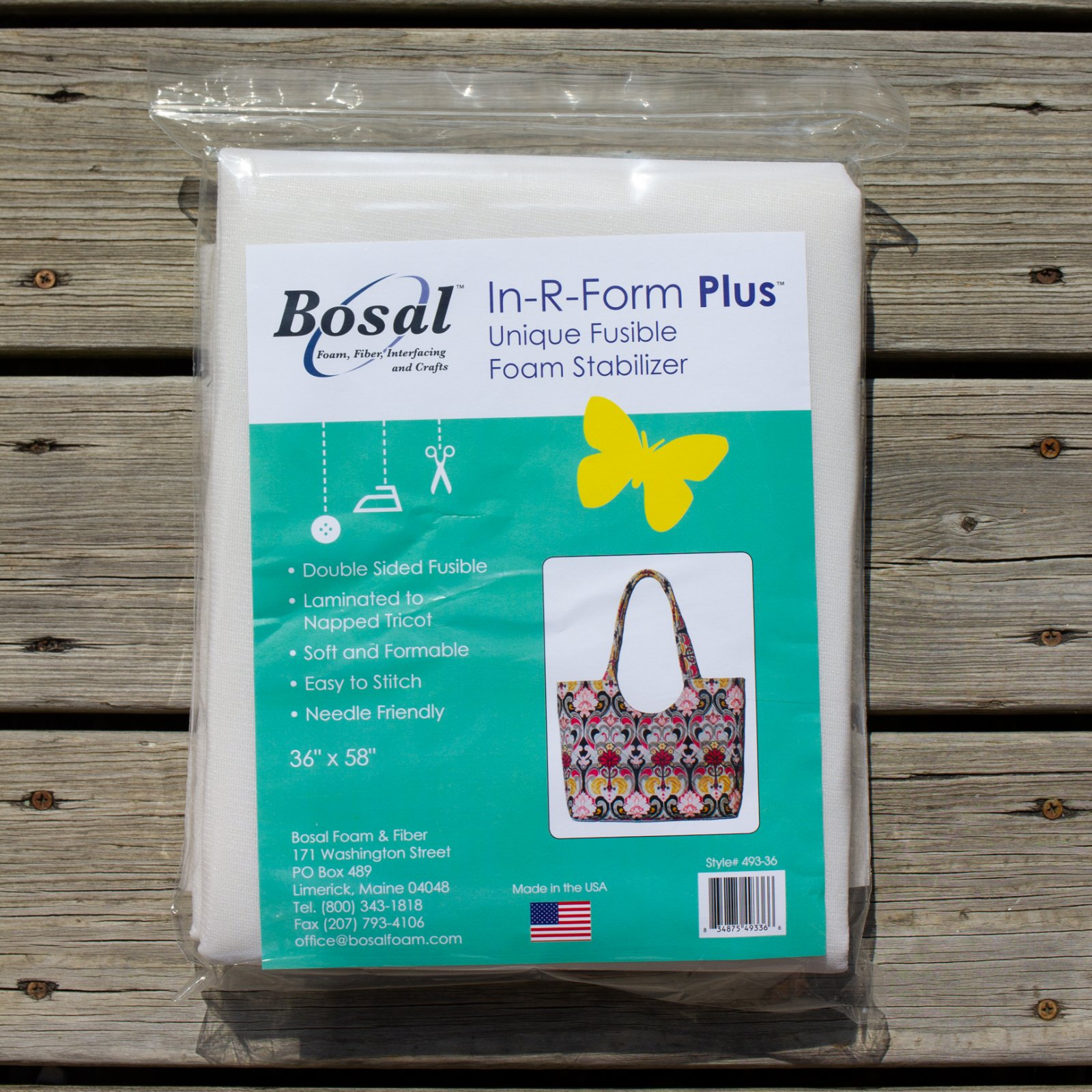 Bosal - In-R-Form Plus Double Sided Fusible Foam Stabilizer (1 yd pack)