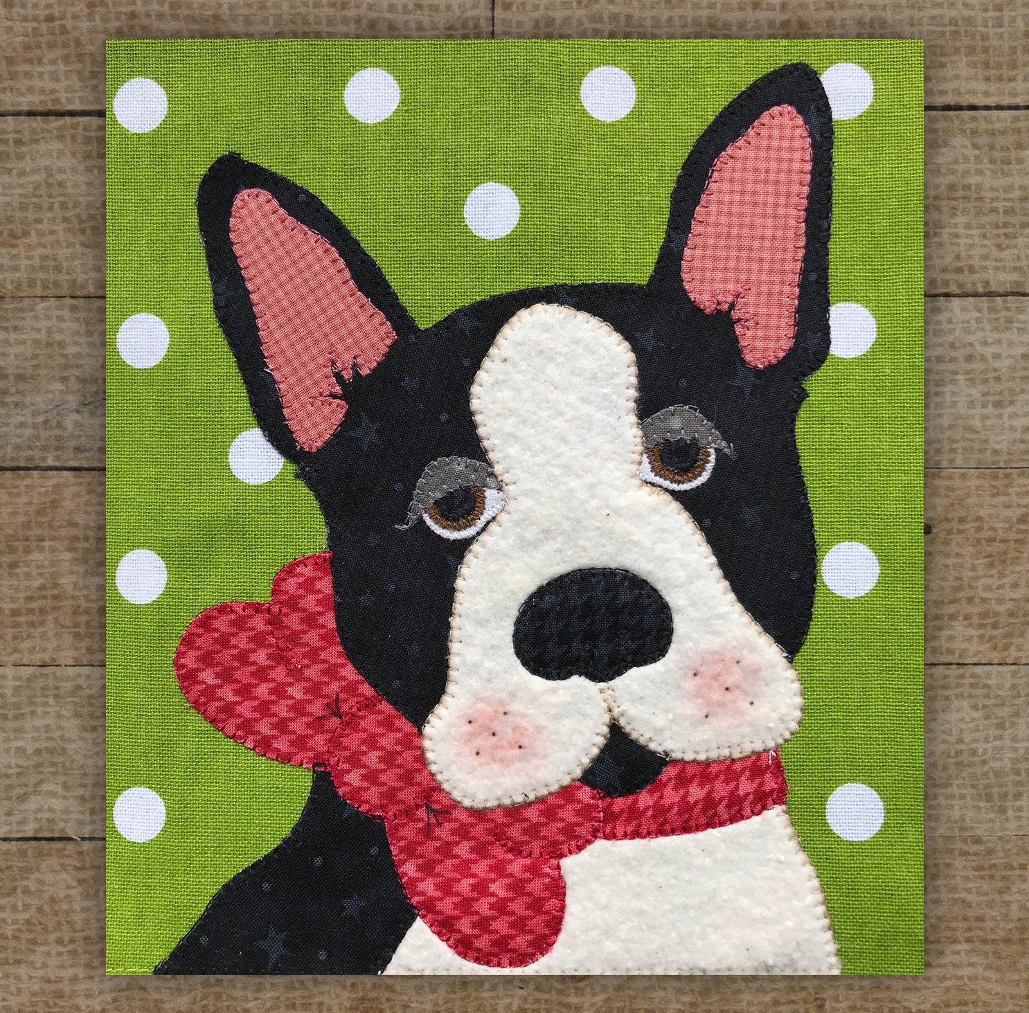 Boston Terrier - Pattern
