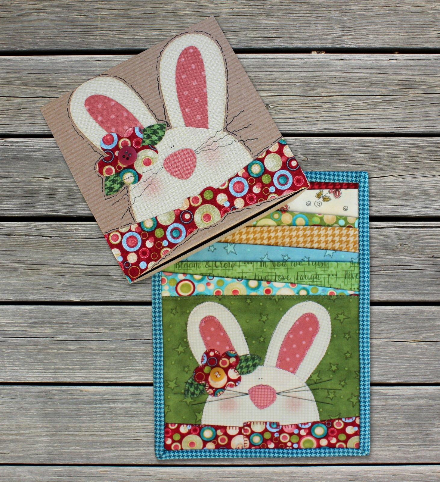 Bunny Mug Rug & Box Kit