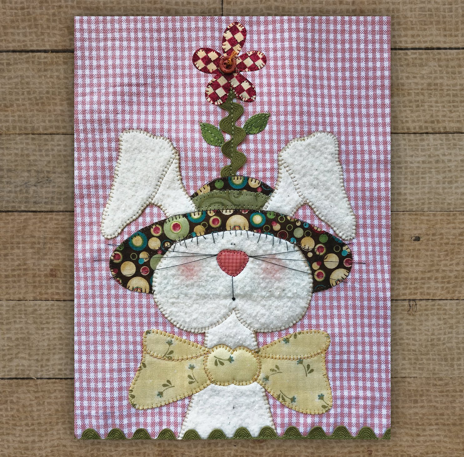 Bunny with Hat - Pattern
