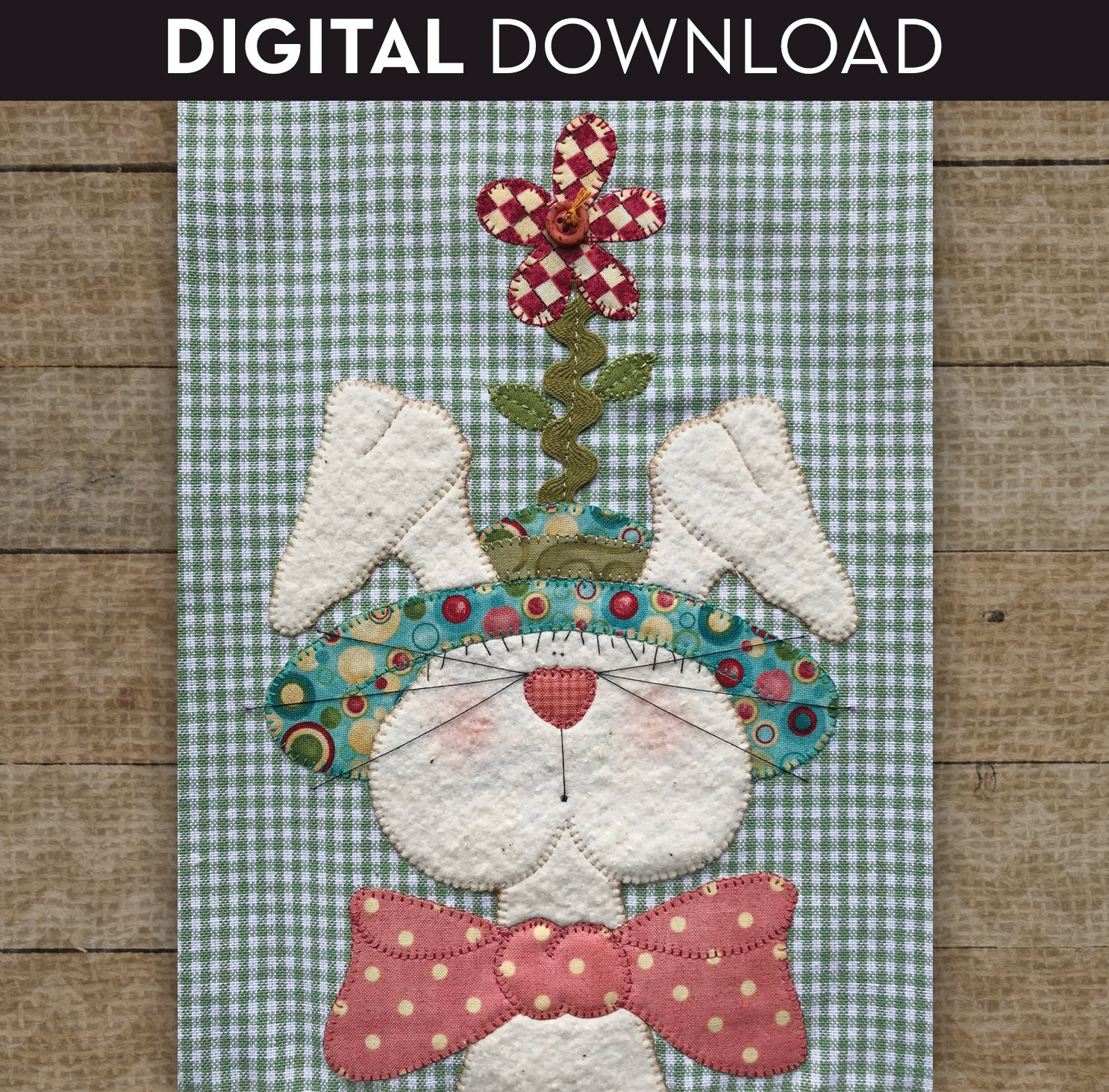 Bunny with Hat - Download