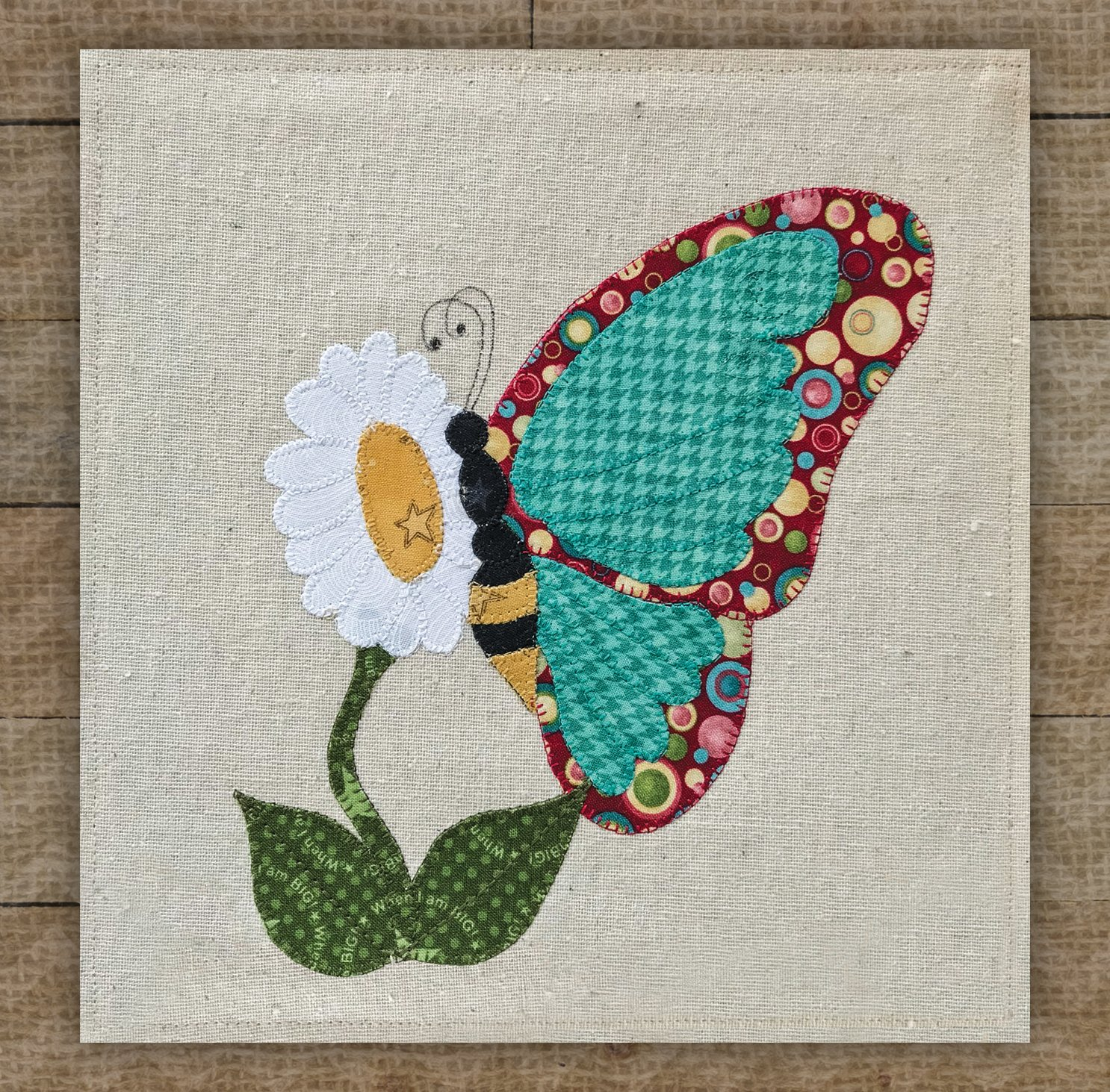 Butterfly Precut Fused Applique Kit