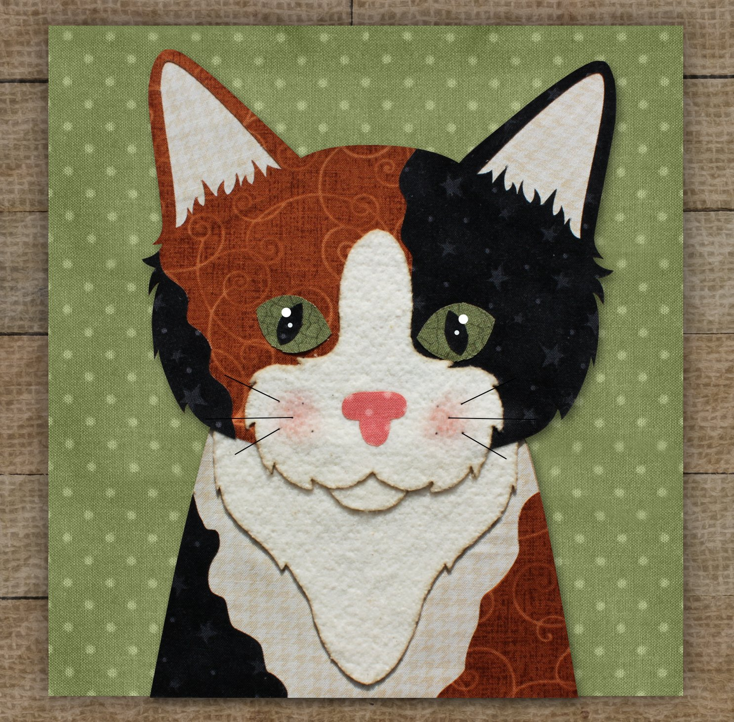 Calico Cat 2 - Pattern