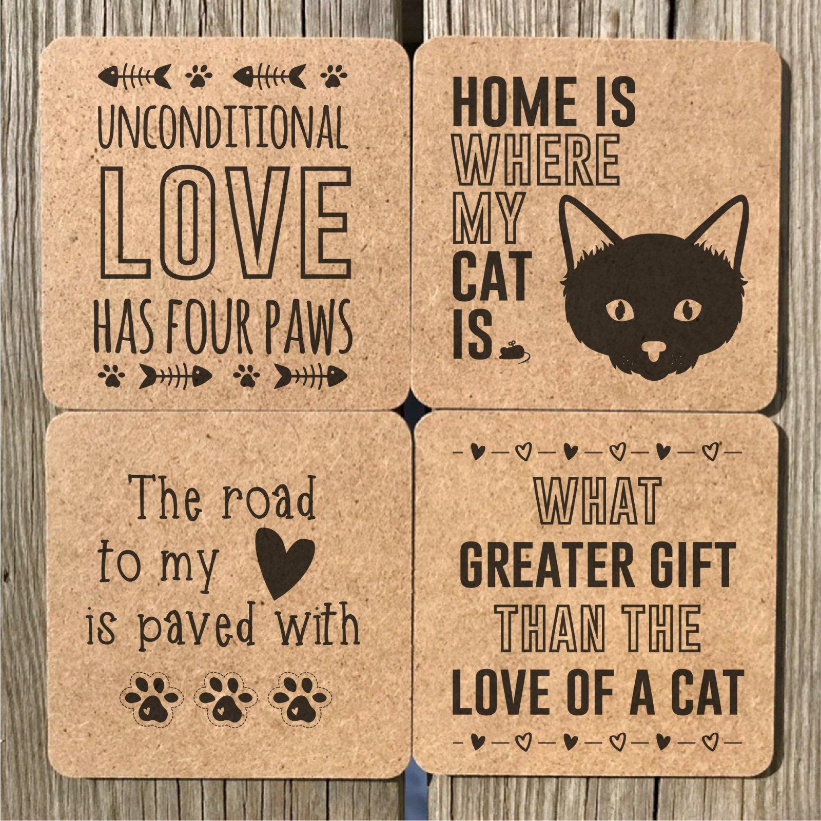 Cat Coasters 1