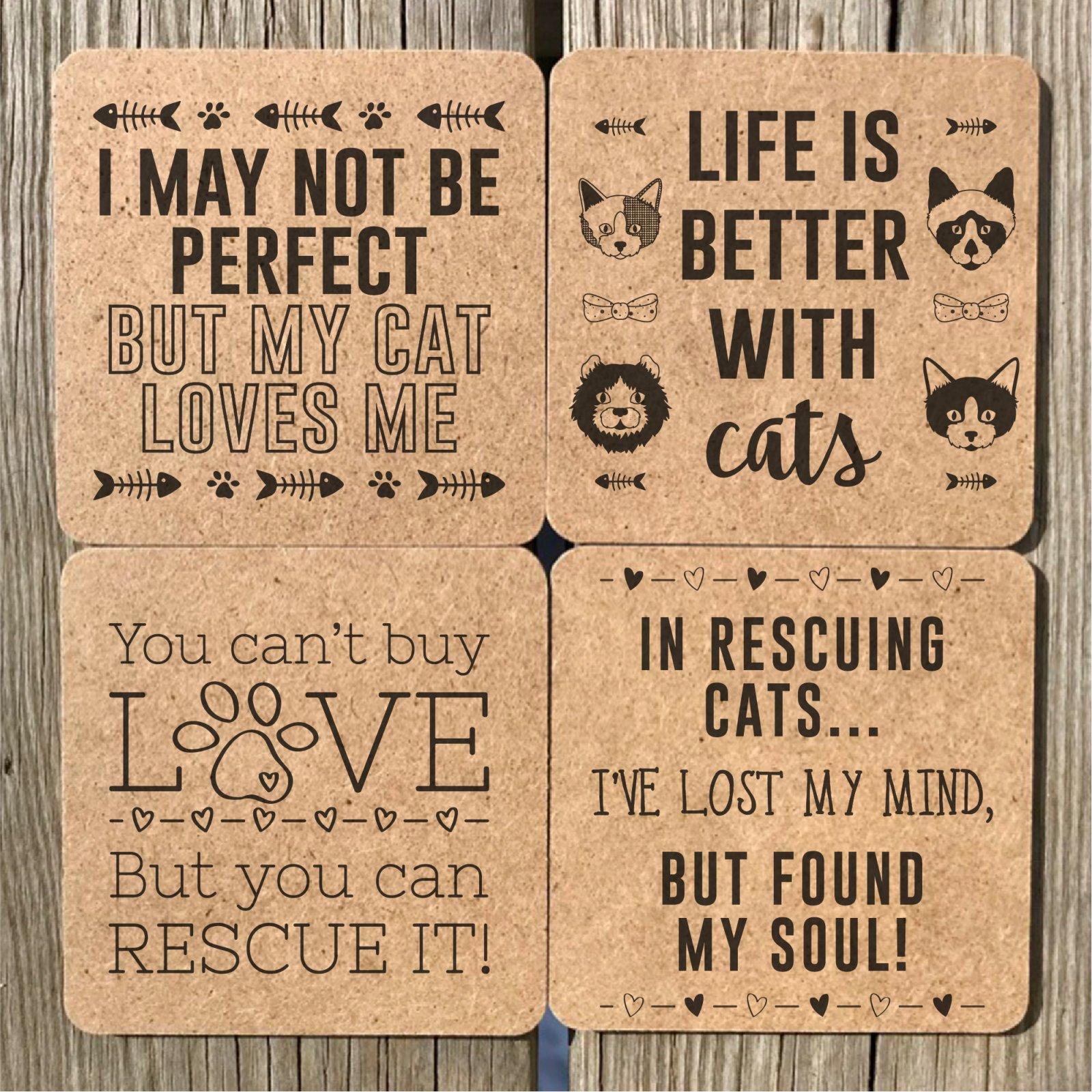 Cat Coasters 3