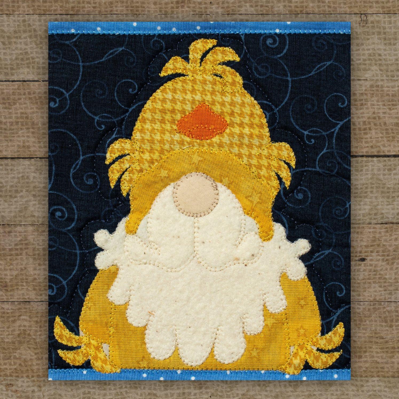 Chick Gnome Precut Fused Applique Pack