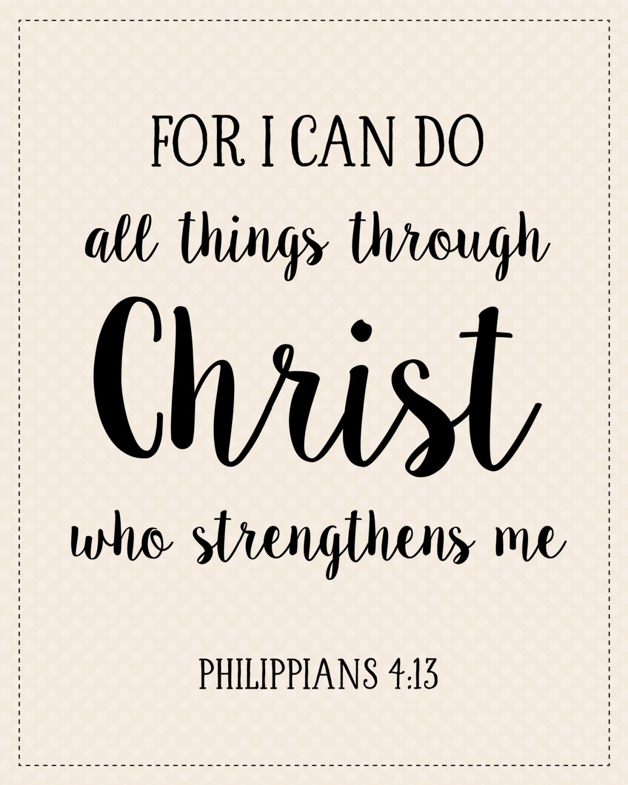 S-5: For I can do all things...