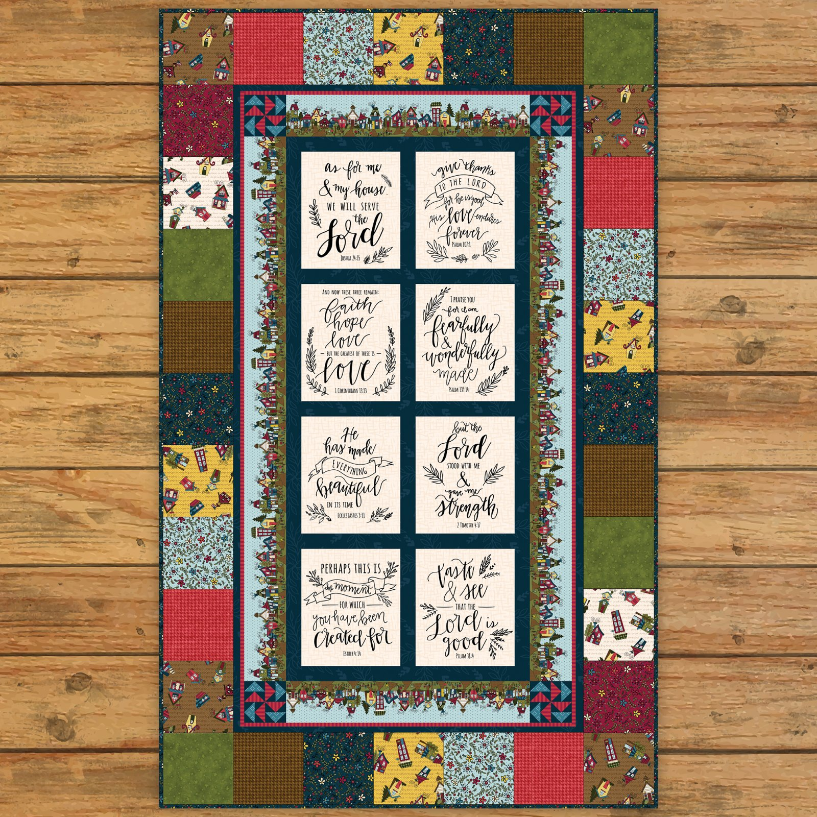 Covered in Truth Simple Panel Quilt Kit