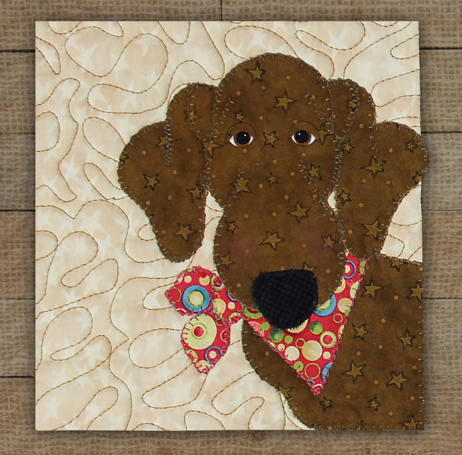 Dachshund Precut Fused Applique Kit