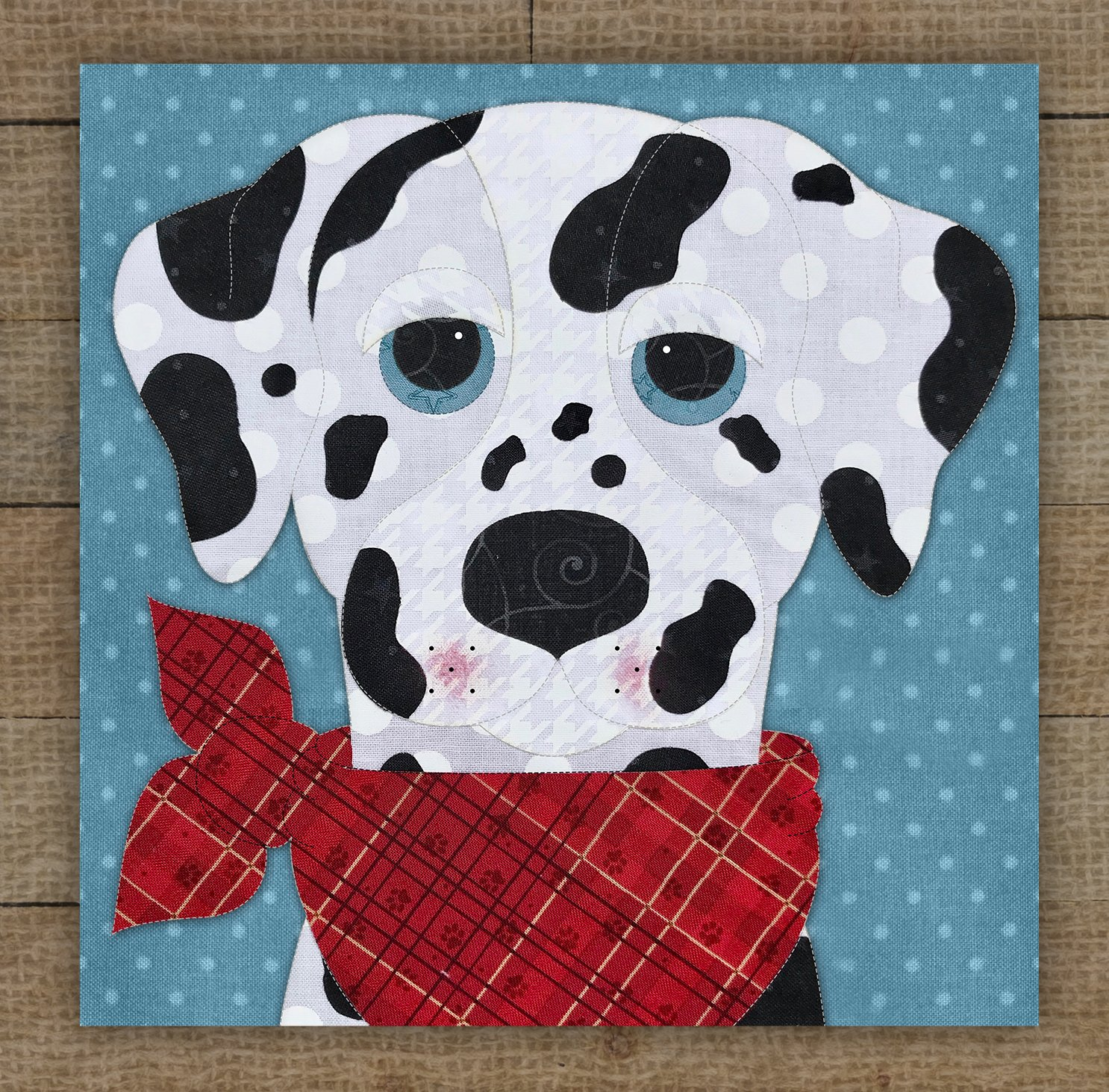 Dalmatian 2 Precut Fused Applique Kit