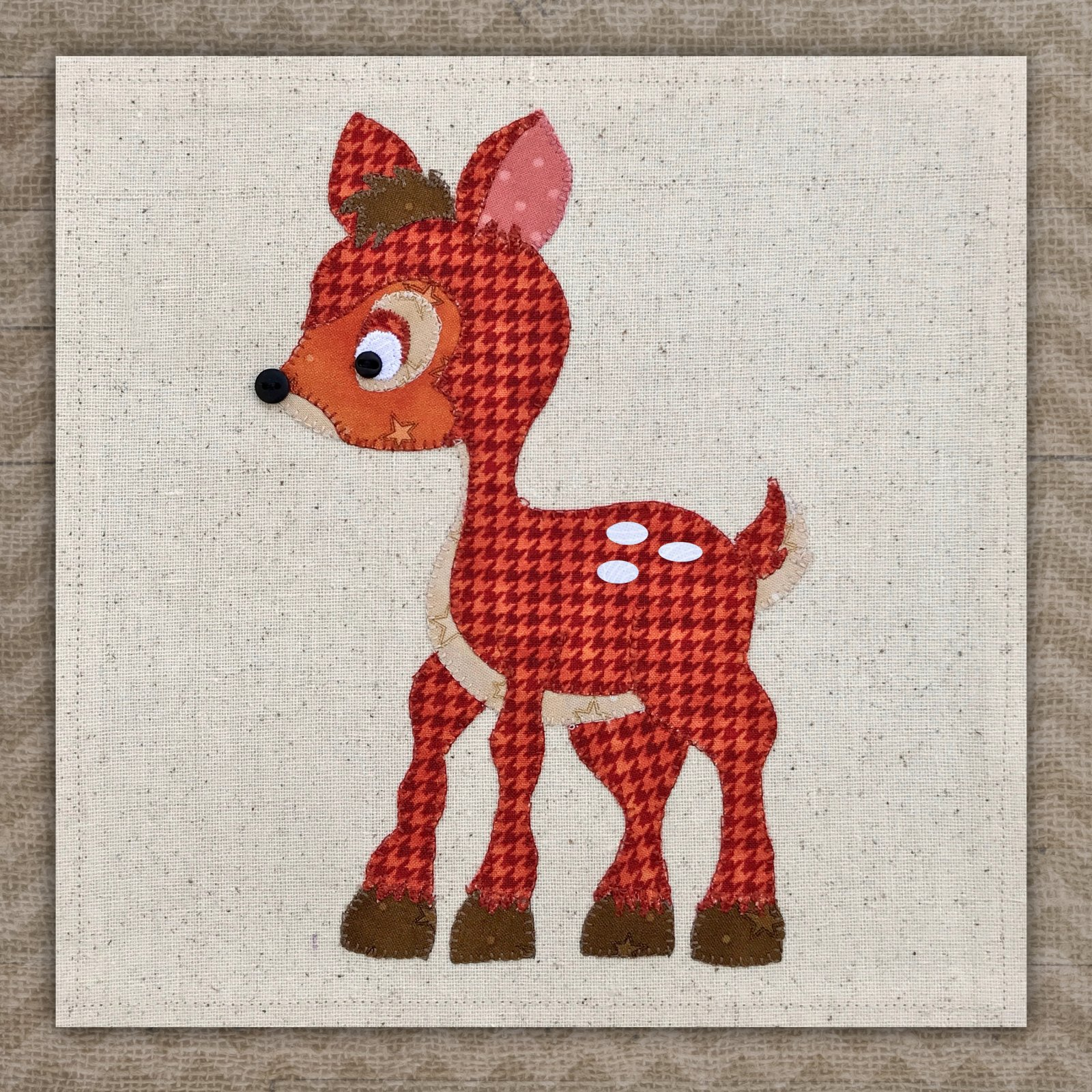 Deer Precut Applique
