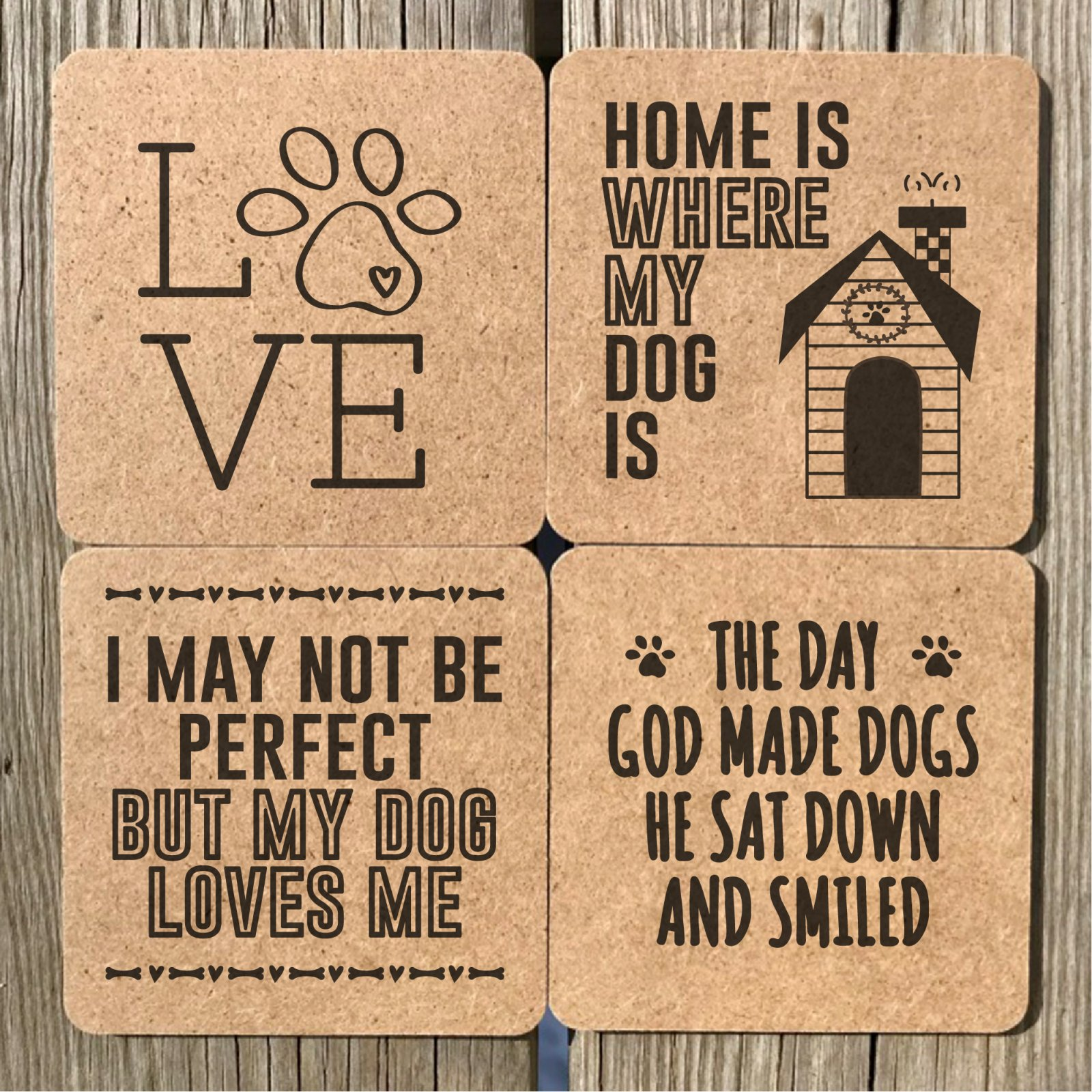 Doggy Coasters 4