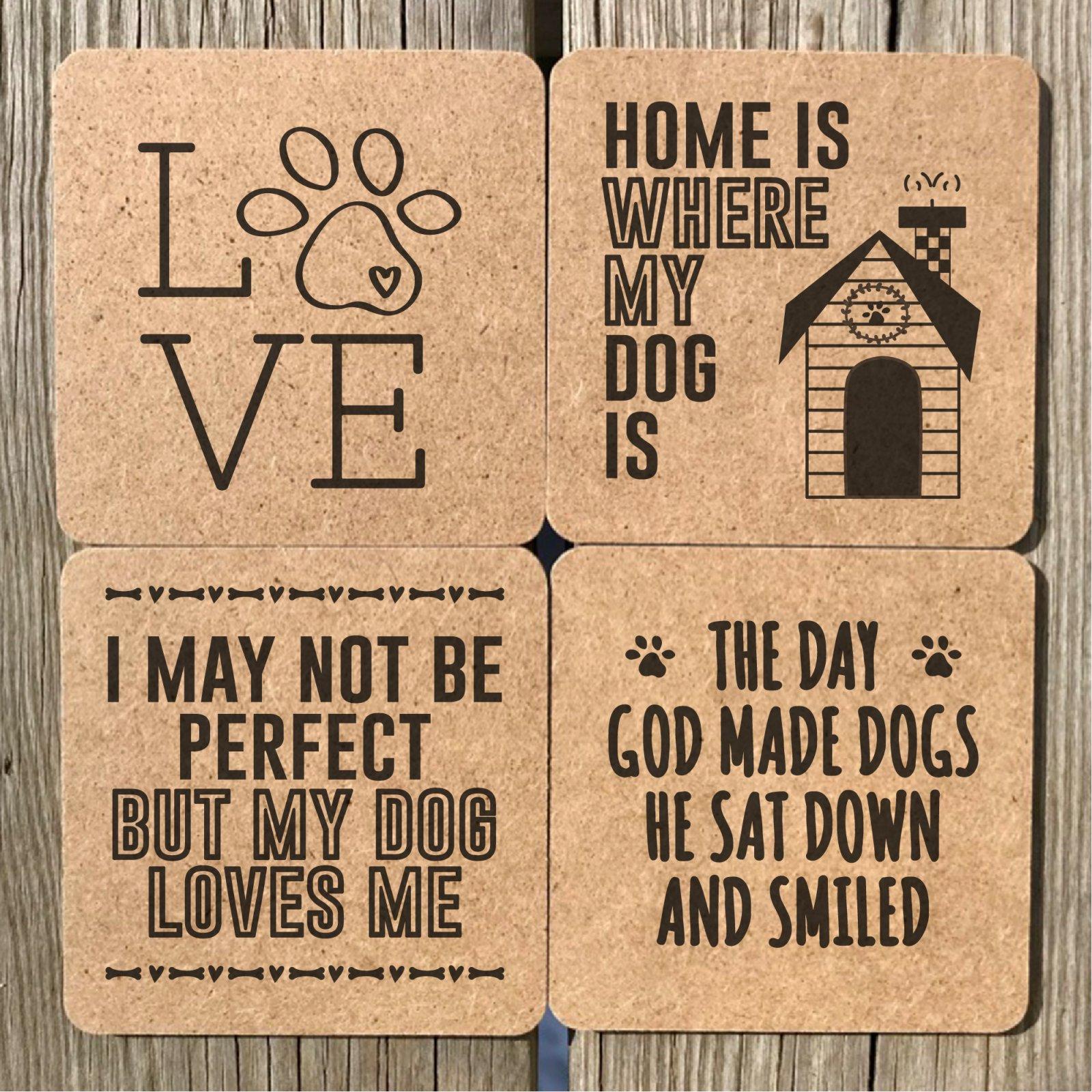 Doggy Coasters 4