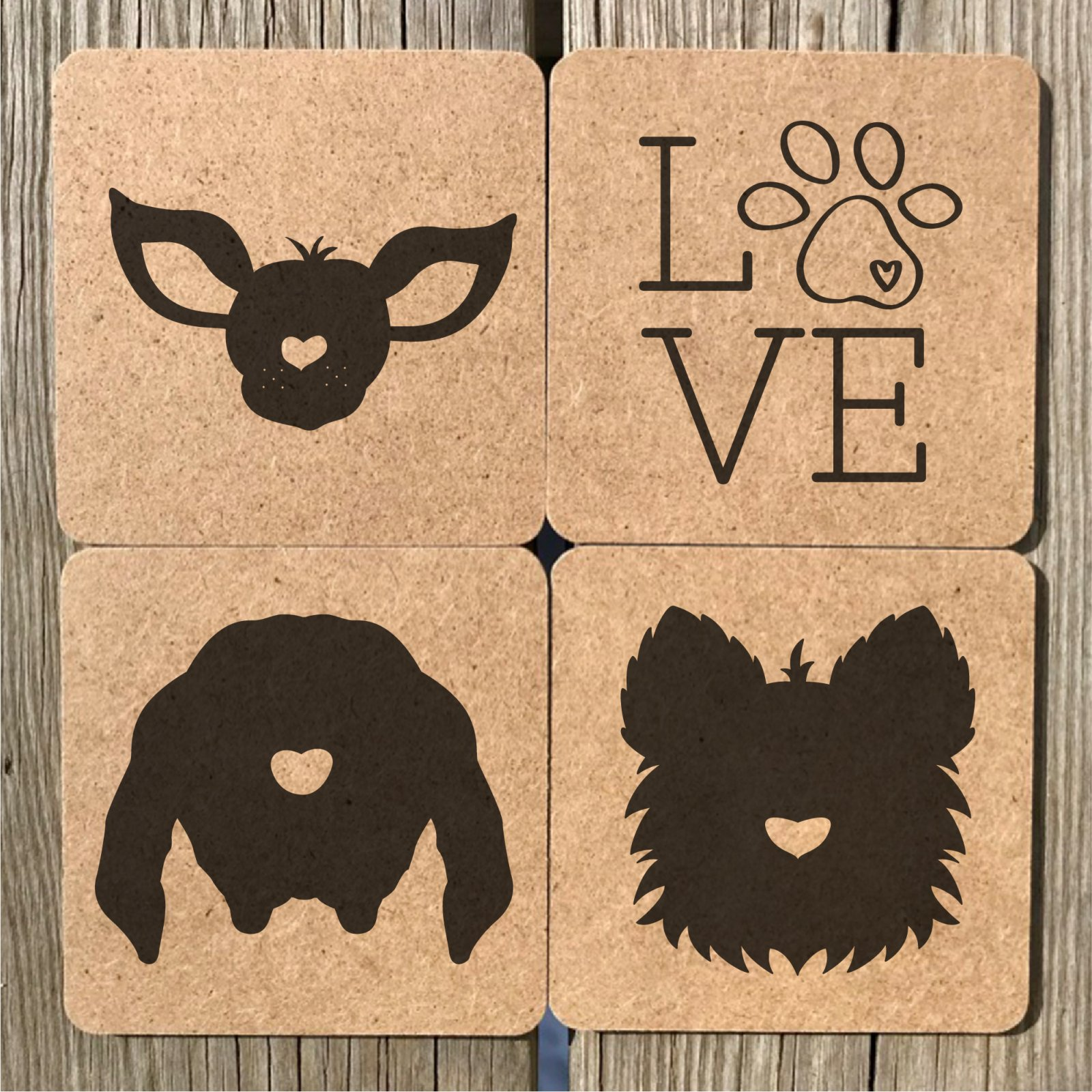 Doggy Coasters 6
