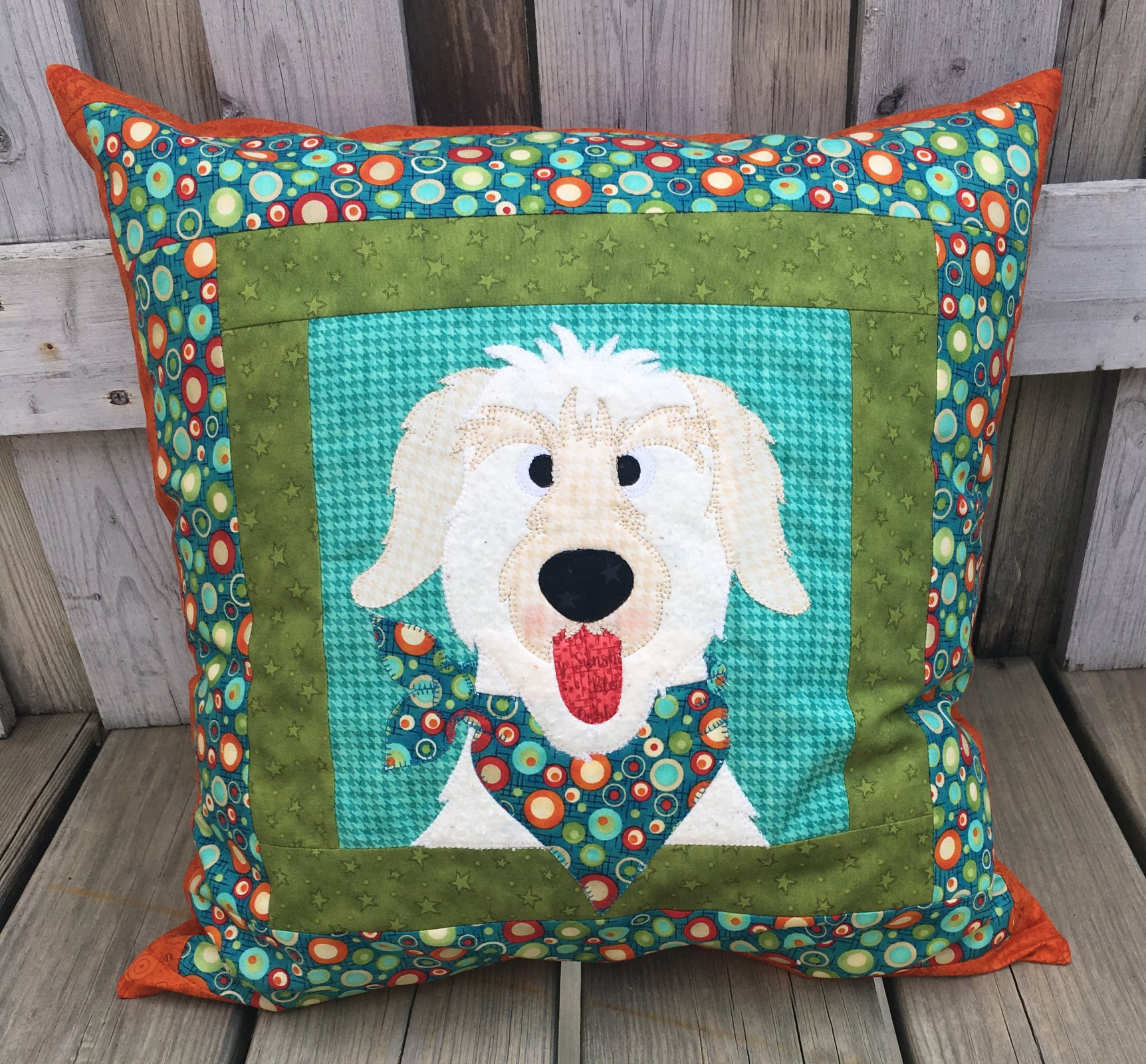 Dog Pillow (Applique not included)