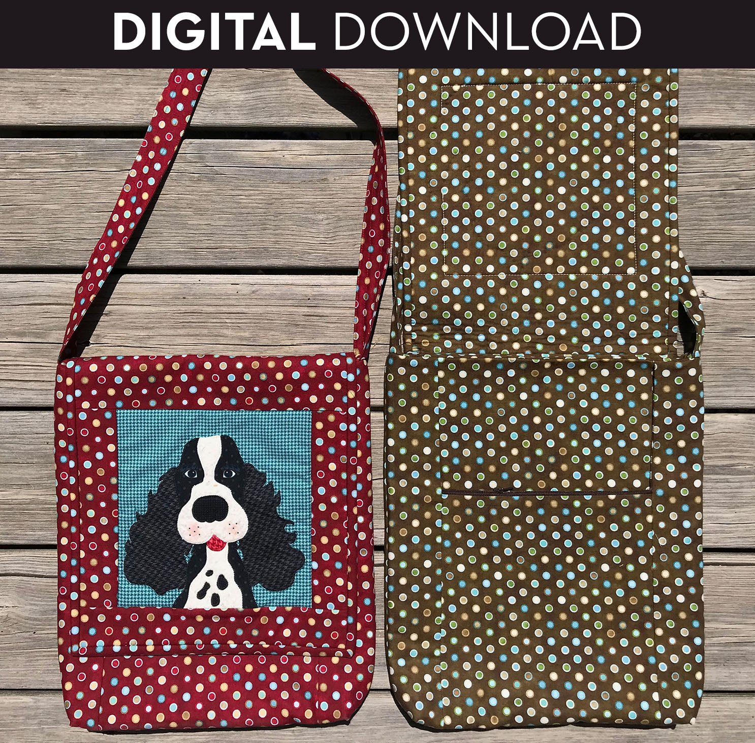 Doggy Bag - Download (Appliques not included)
