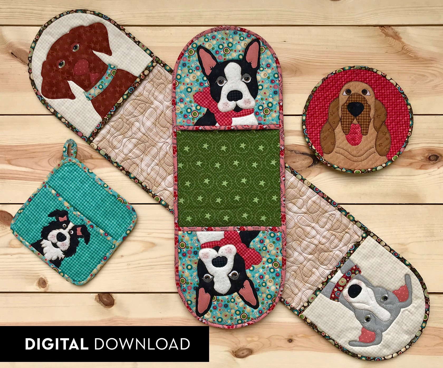 Doggy Hot Pads - Download