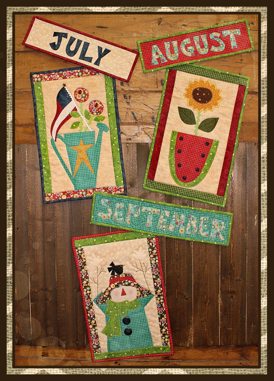 Doodle Days Calendar July * August * September