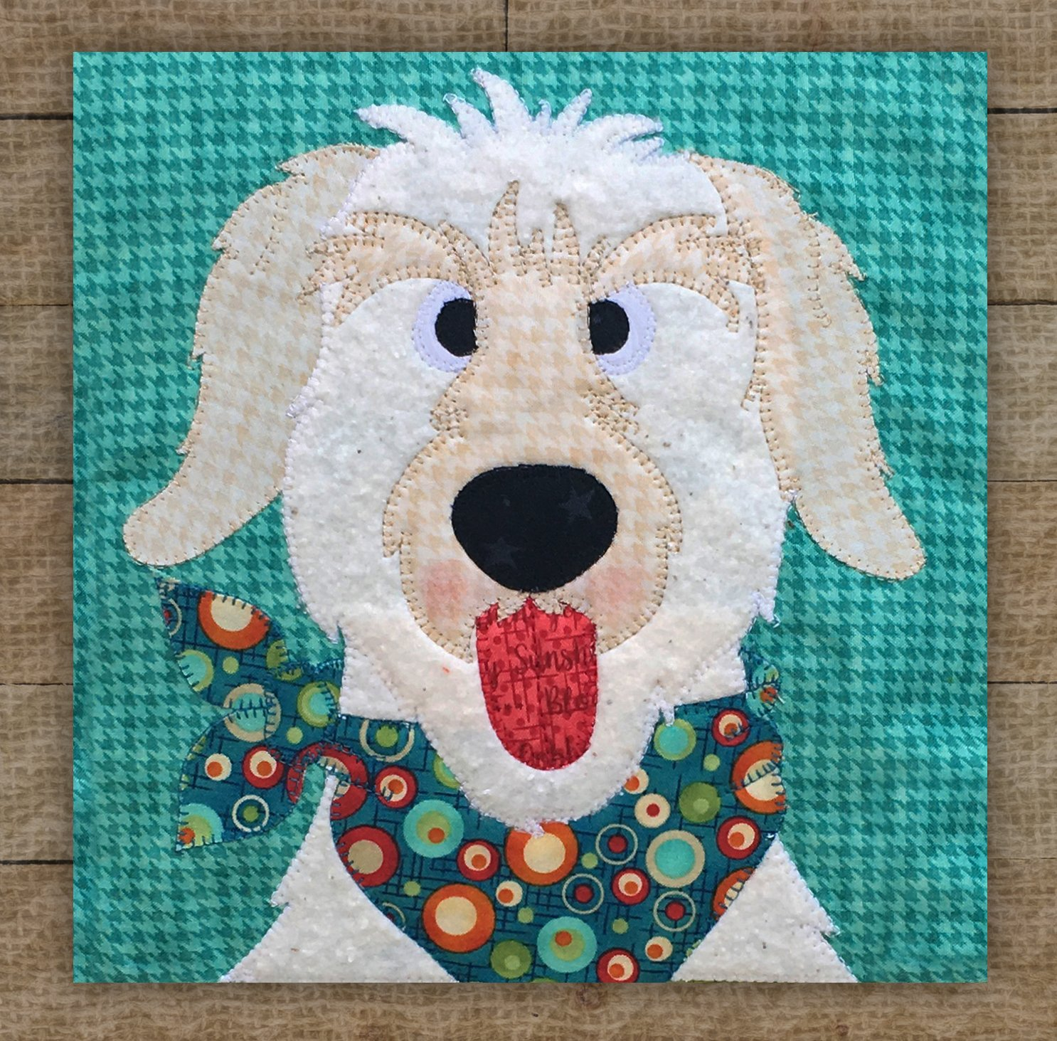 Doodle Dog Precut Fused Applique Kit