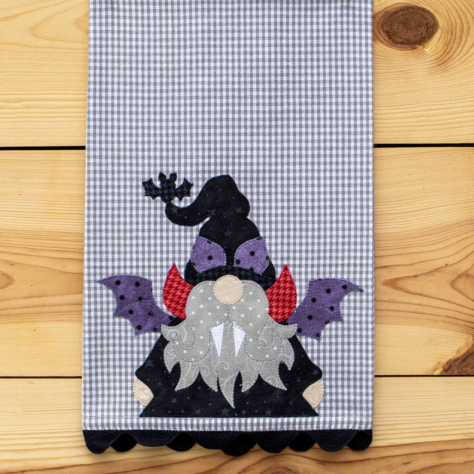 Dracula Gnome Tea Towel Kit
