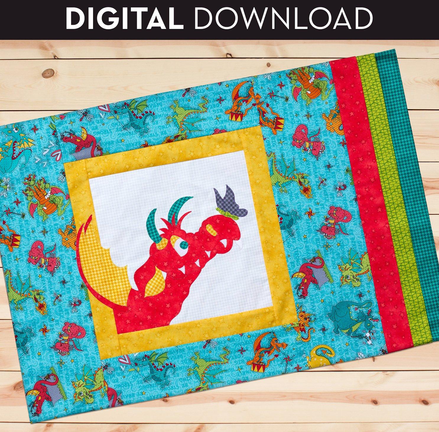 Large Applique Pillowcase - Download