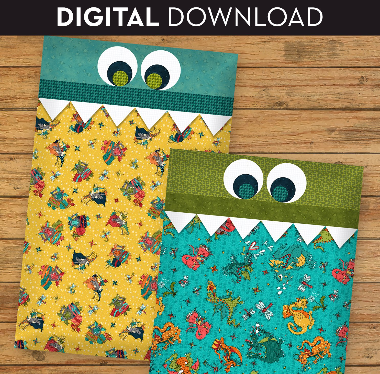 Dragon Pillowcase - Download
