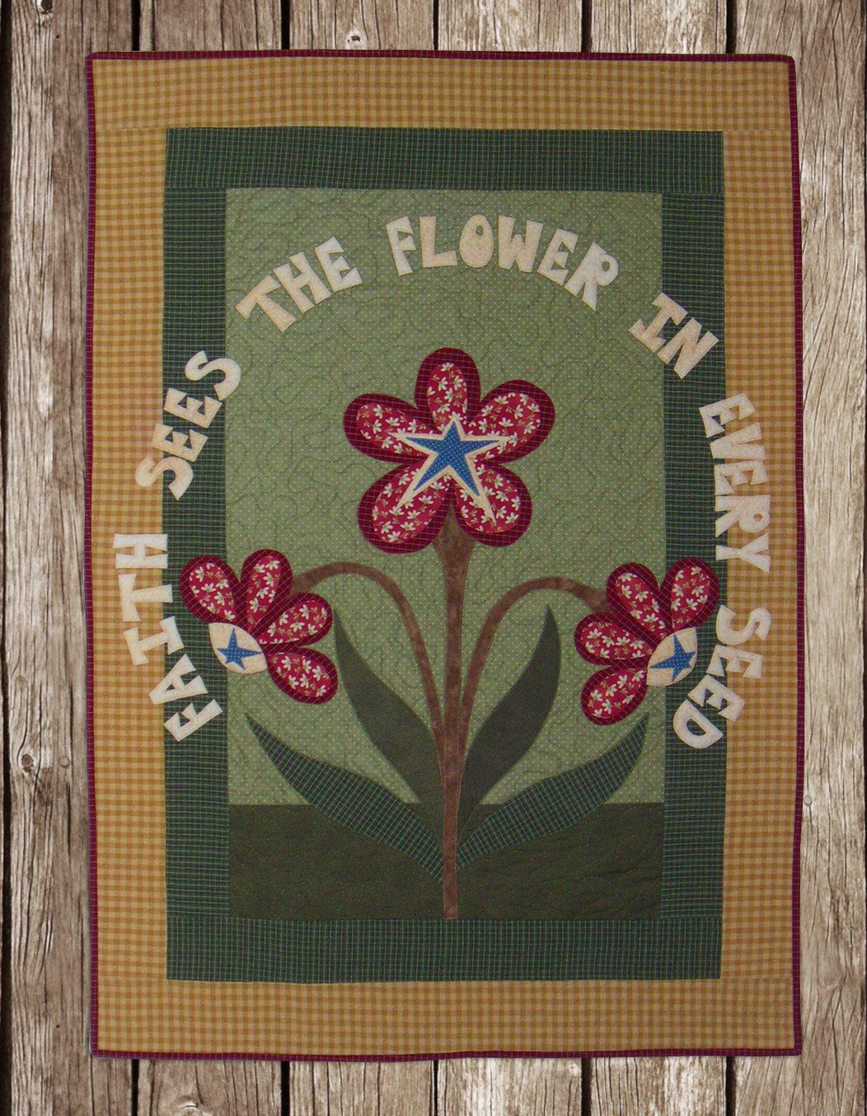 Faith Sees The Flower