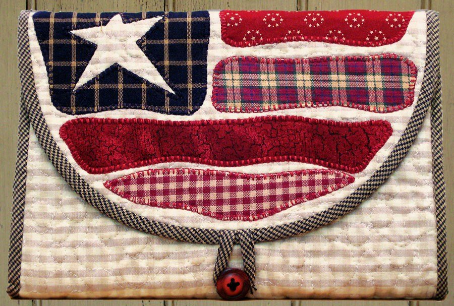 Flag Caboodle Doodle Pad