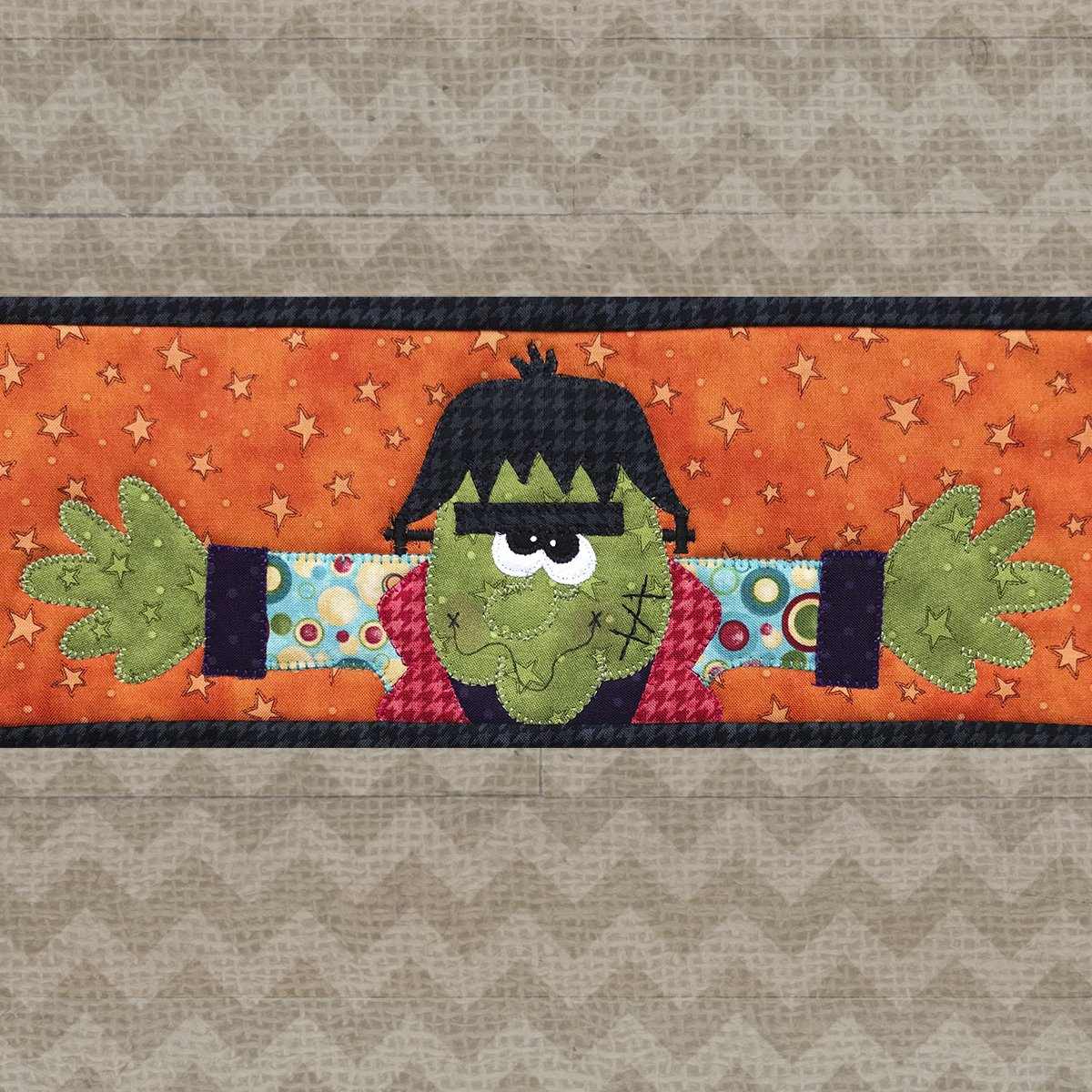 Frankenstein Precut Fused Applique Kit