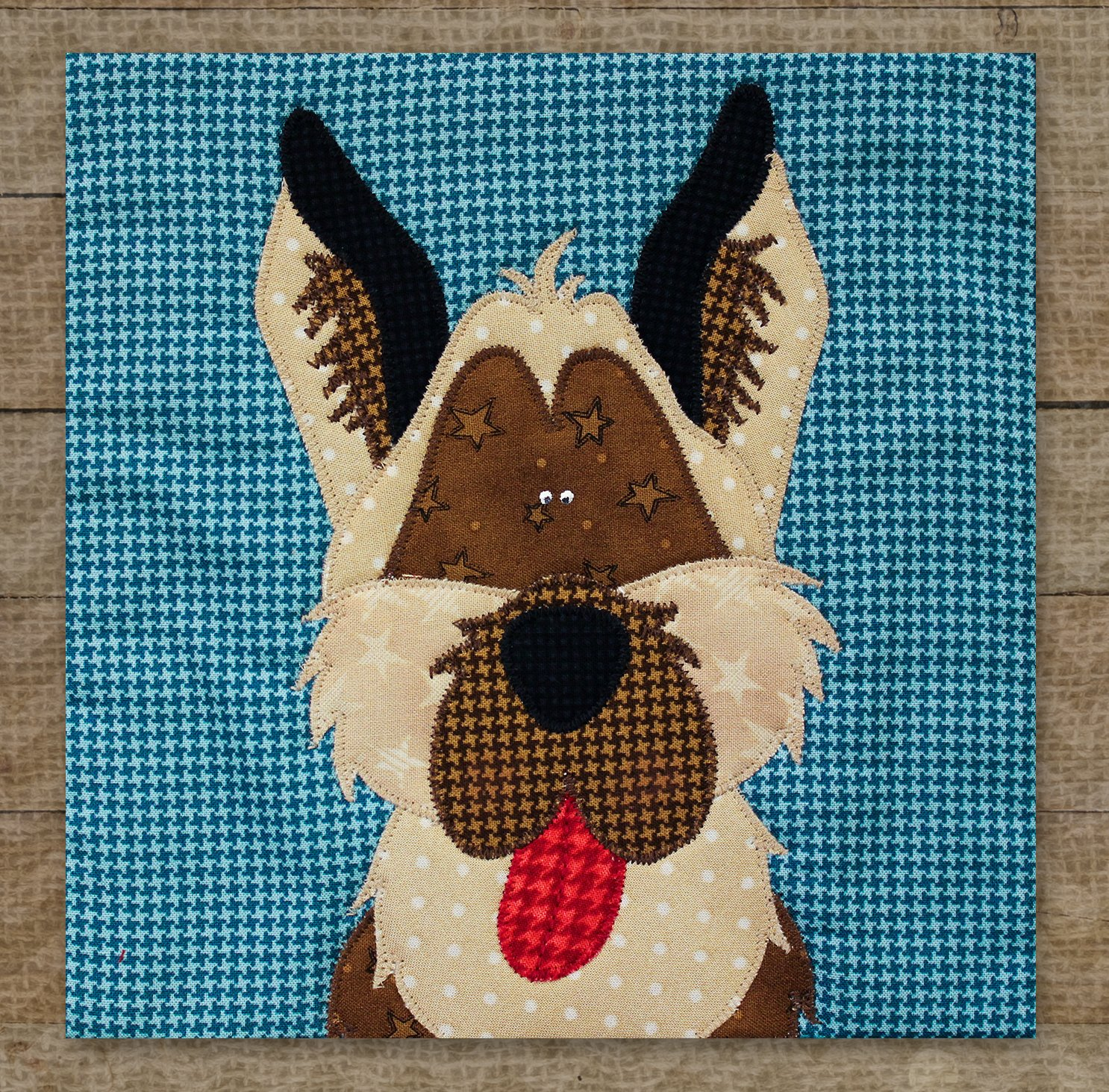 German Shepherd - Pattern
