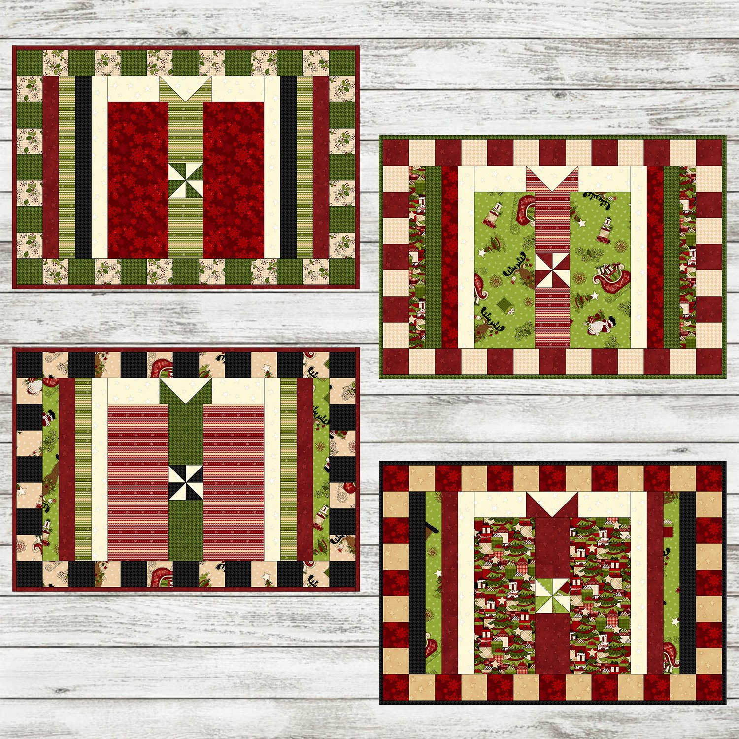 Glad Tidings Placemats Kit