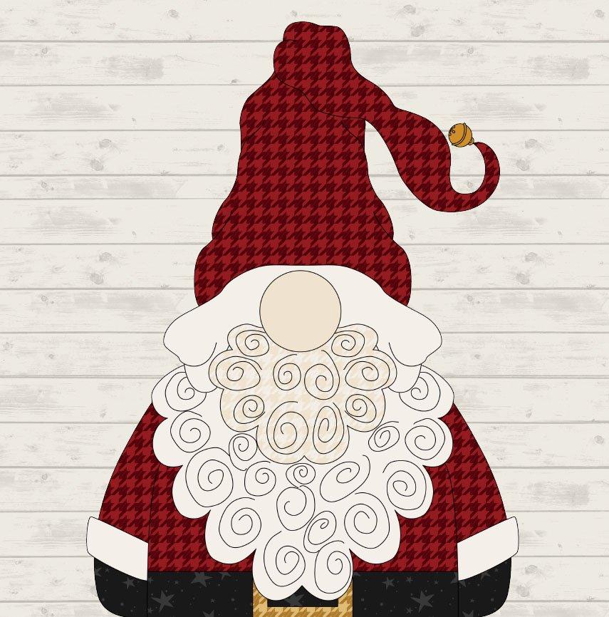 December Gnome Precut Fused Applique Pack