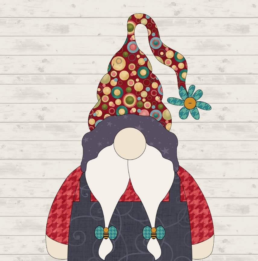 May Gnome Precut Fused Applique Pack
